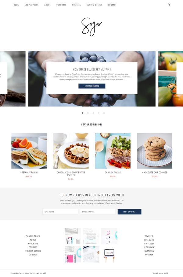 Sugar Homepage
