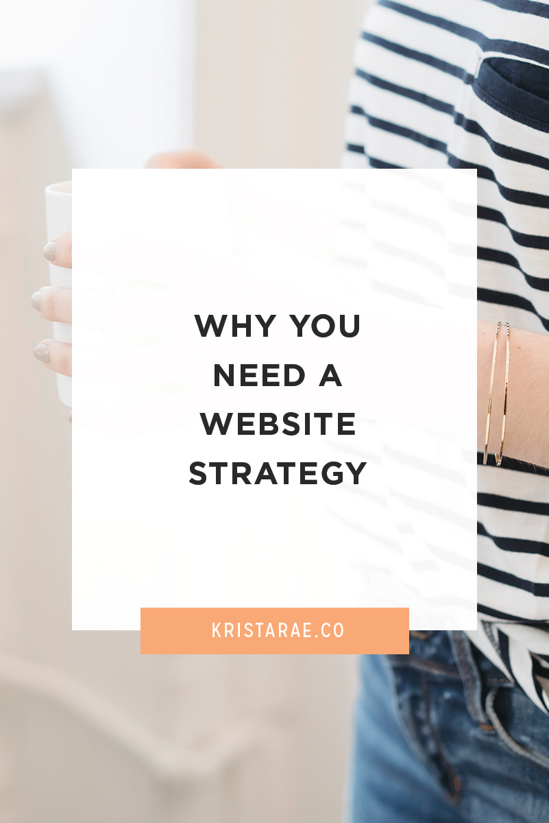 I've found that many blogs are lacking when it comes to having a purpose. That's where a website strategy comes in!