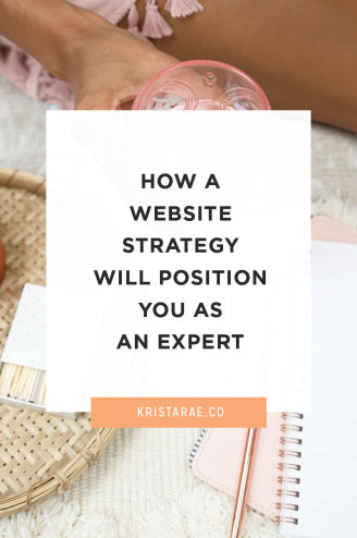 If content isn't coming from an expert we don't want it. That's why it's so important for you to learn how a website strategy will position you as an expert.