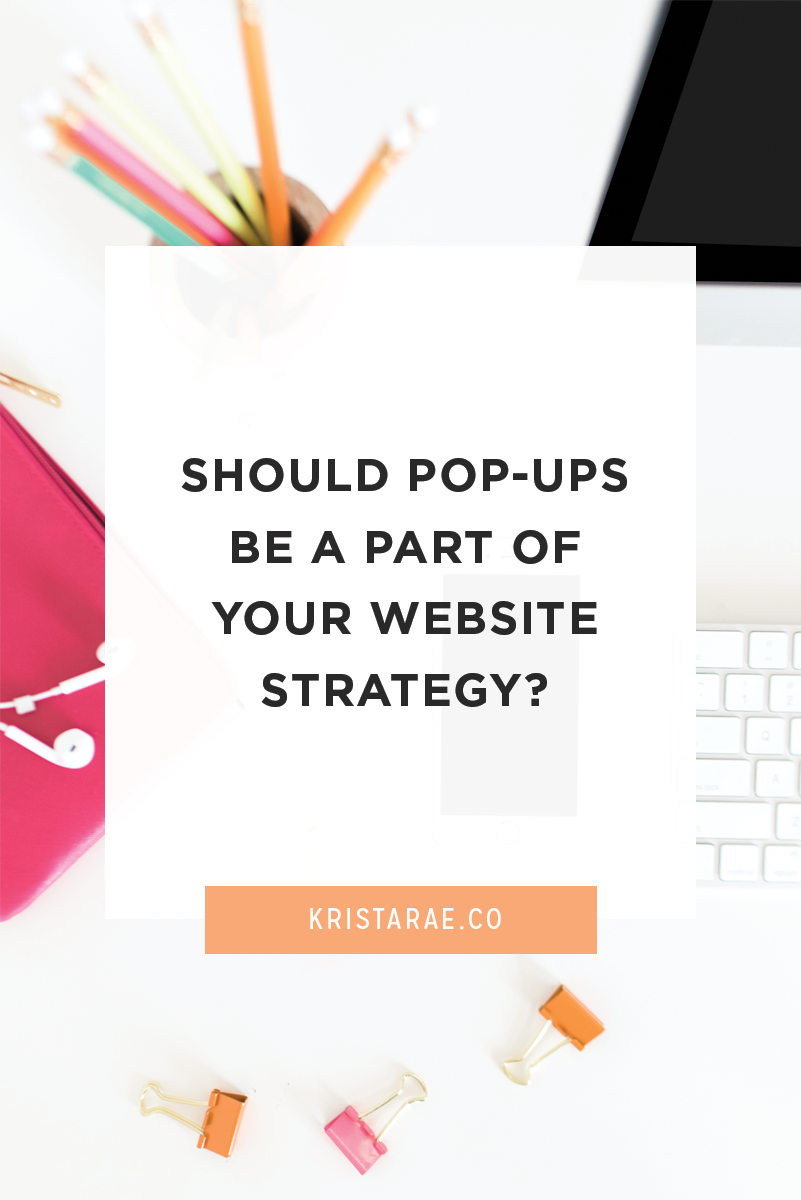 Should pop-ups be a part of your website strategy? Some people love them, some people hate them, and some people don't care. But what's right for you?
