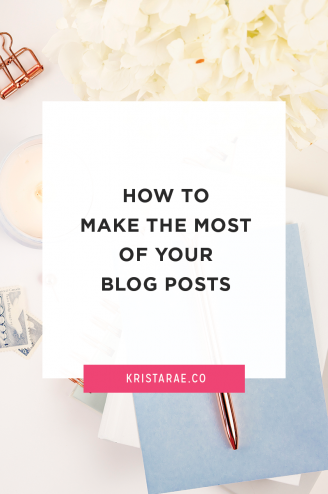 Each blog post you write takes a lot of work. Be sure that hard work isn't going to waste with these 8 ways to make them work for your business!