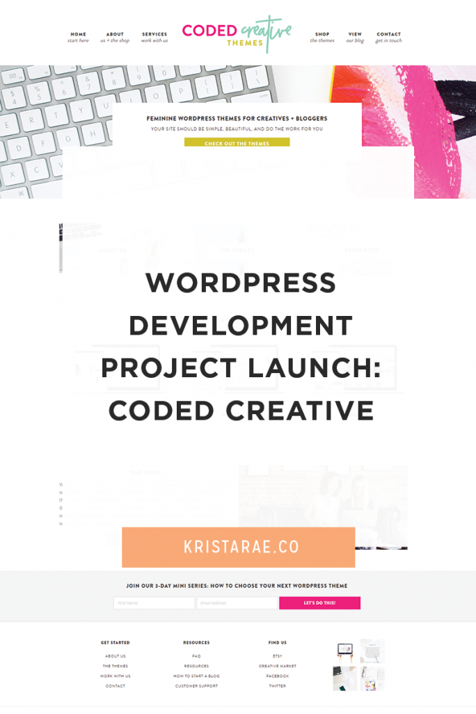 This WordPress development project with designer Kory Woodard was a blast! Read more about the process and collaboration here!