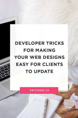 A problem with custom website designs on WordPress is that, if done incorrectly, they can be difficult for clients to manage on their own. Here are 4 developer tricks for making your web designs easy for clients to update