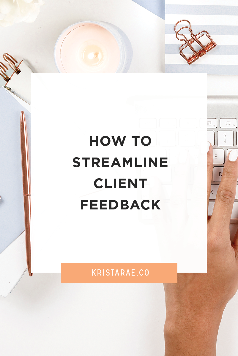When providing a creative service to a client, such as website design, you are likely to get sporadic feedback. Here are 3 easy ways you can start streamlining client feedback and start feeling on top of your client workflow again.