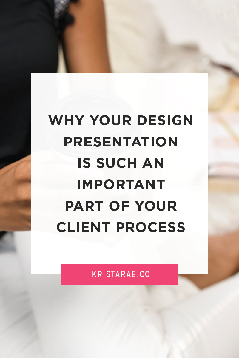 The design presentation is one of the most undervalued parts of most design projects. Today we're going to go over why it's so important, what not to do, and what to try instead.