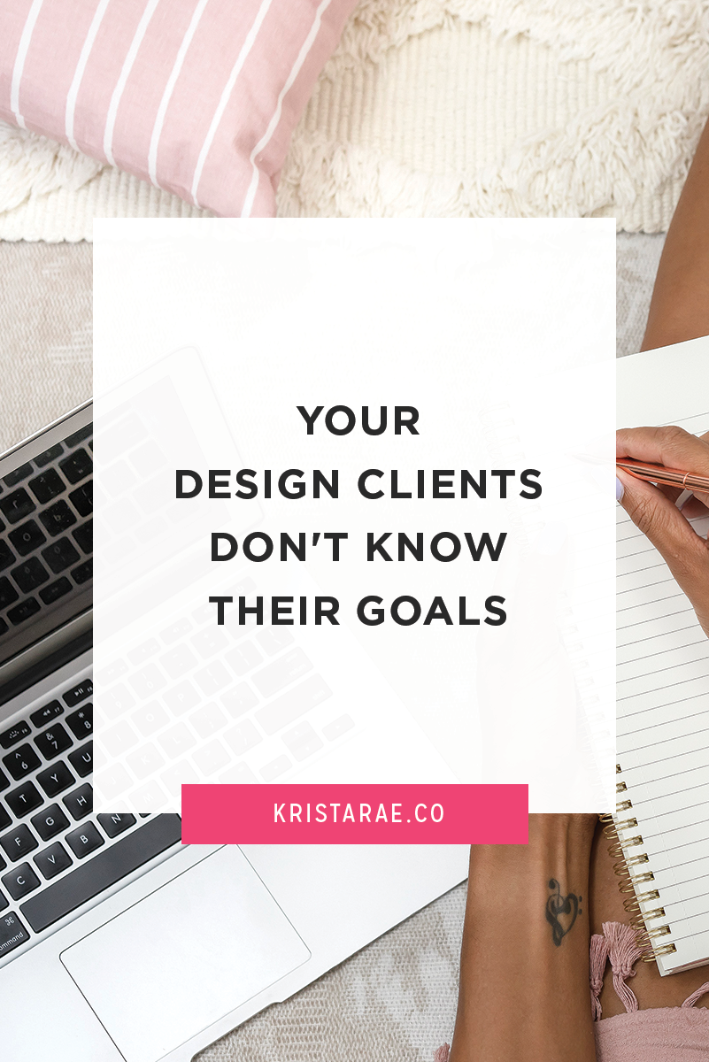 Find out why your clients don't know their goals and how you can work with them to focus on the right things throughout their website.
