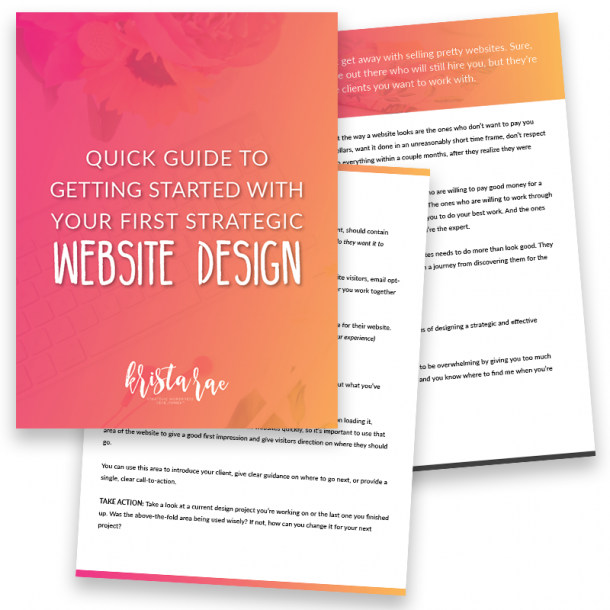 Quick Guide To Designing Your First Strategic Website