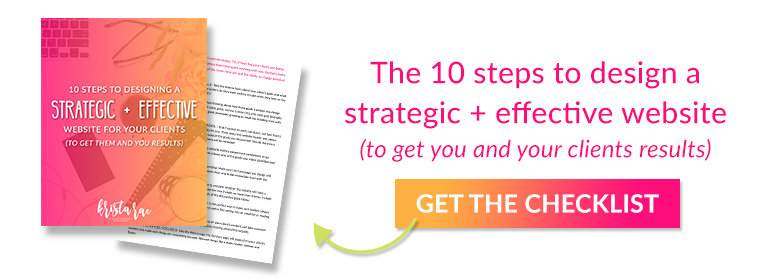 Click to download the 10-step checklist on designing strategic and effective websites