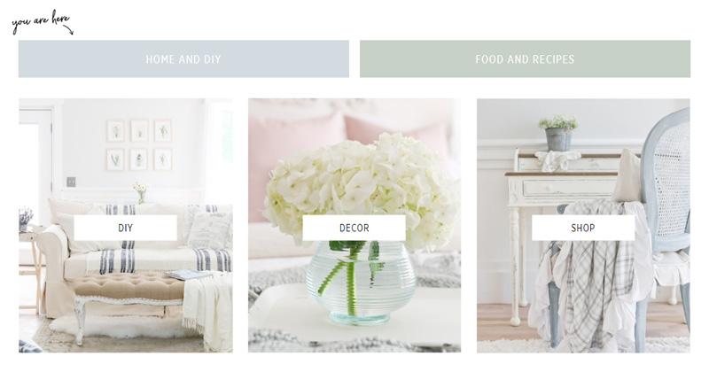 Custom header images