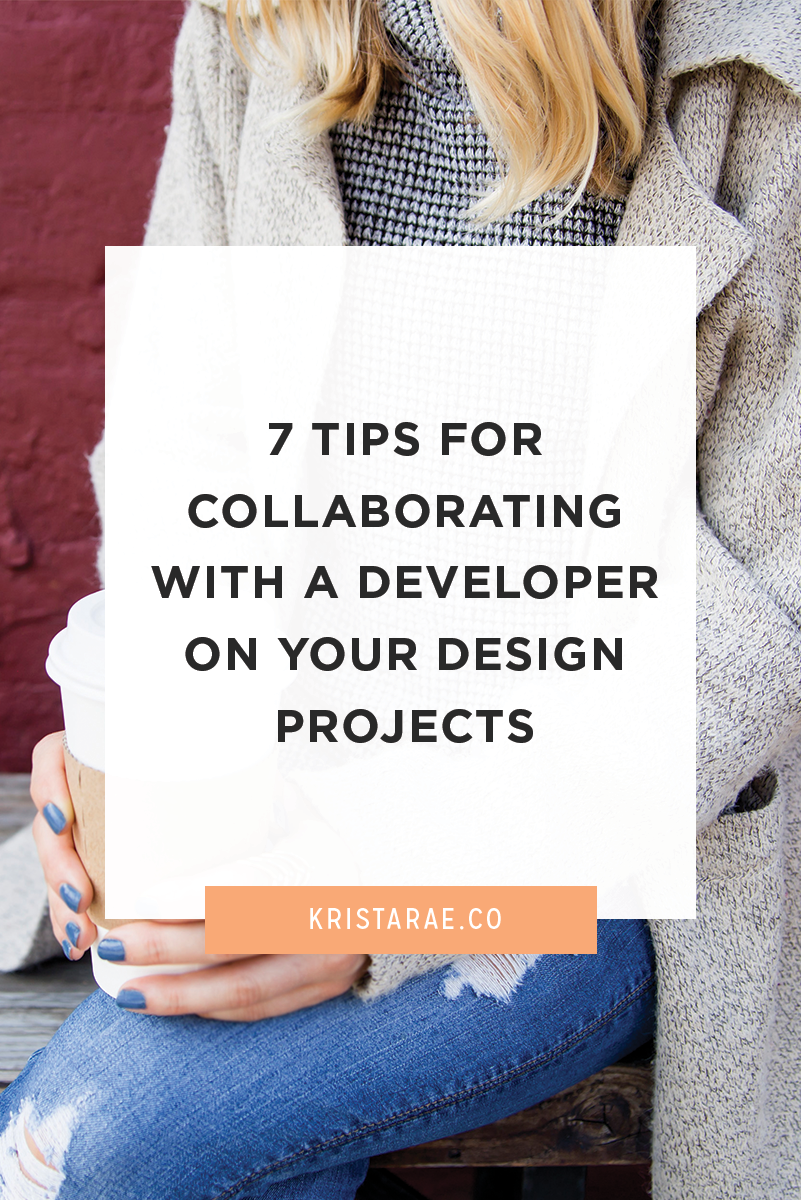 To make your first (or next) collaboration with a developer go smoothly, we'll go over 7 tips for collaborating with a developer on your design projects.