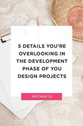 As a designer, you might find yourself overlooking some things in your projects - specifically these 5 things you're overlooking in the development phase.