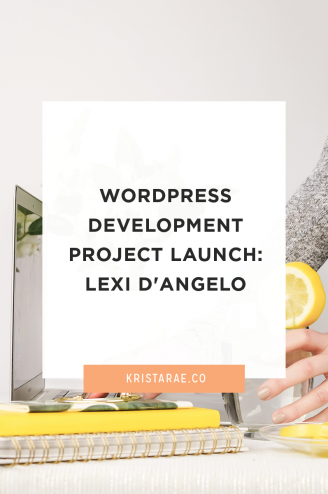 Check out the latest custom WordPress Development project launch for Lexi D'Angelo!