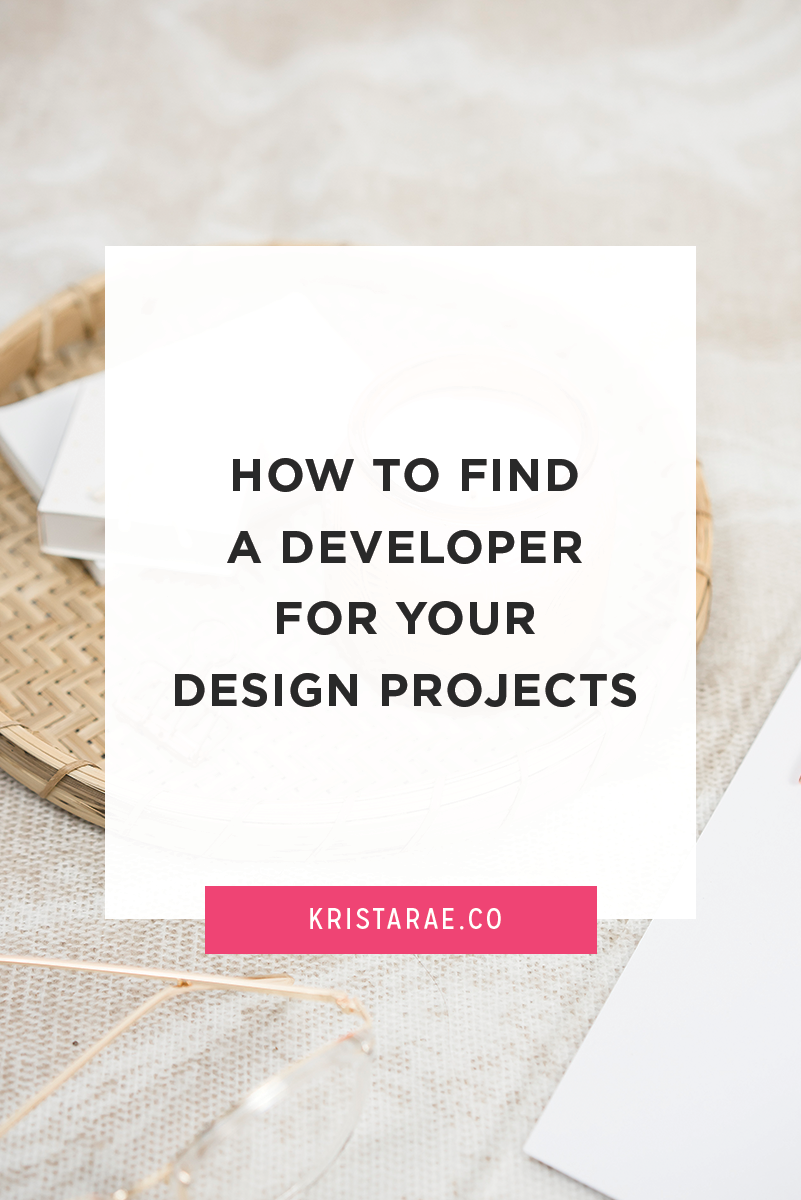 Finding a developer you can rely on to bring your web design projects to life is a big and scary step. Follow these steps to find the perfect developer for your design projects.