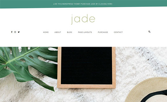 Jade - WordPress Theme Development