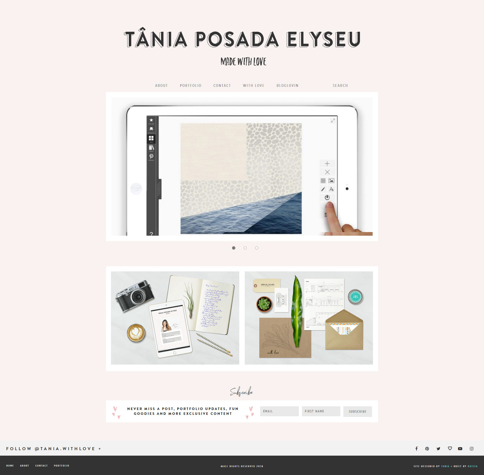 Tania Posada Elyseu - Custom WordPress Development