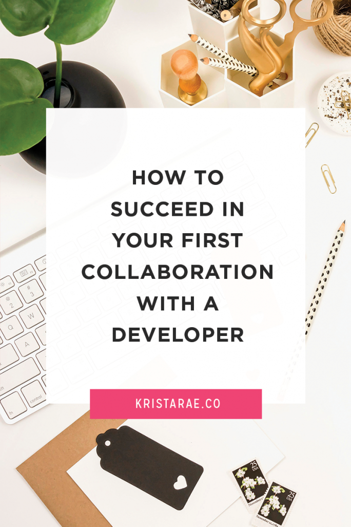 You can have an amazing experience bringing a developer in to work on your web design projects rather than suffering through code or working with someone who leaves you with a stressful experience. Learn how to succeed in your first collaboration with a developer.
