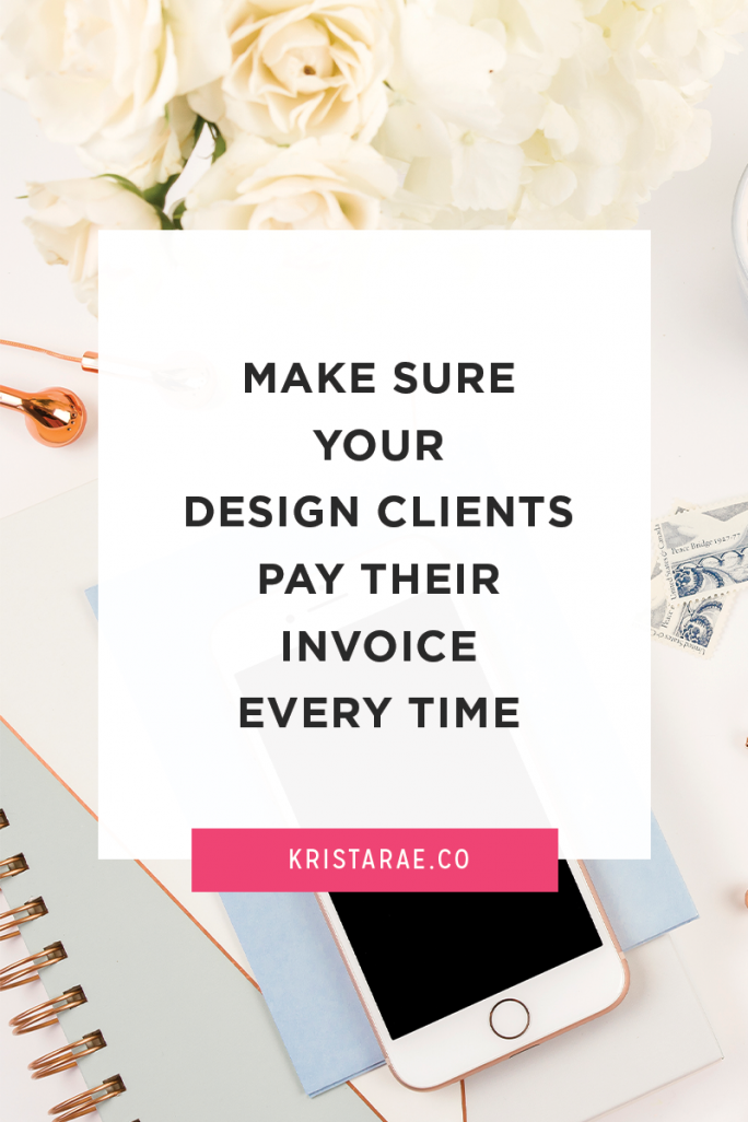 No more chasing people for payment! These tips will help you make sure your invoices are paid every time by your design clients.