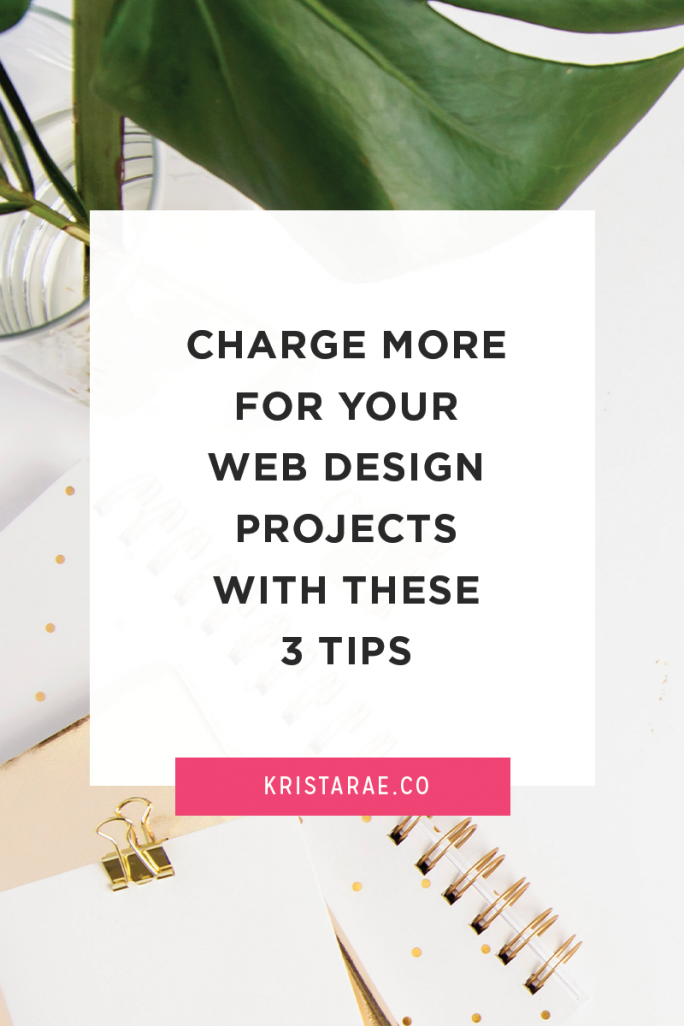There comes a time in business where you want to take on fewer projects, but make the same amount of money. Or you may want to increase your revenue altogether! One of the quickest solutions for both of those is to increase your prices and charge more for your design projects. Read more on the blog!