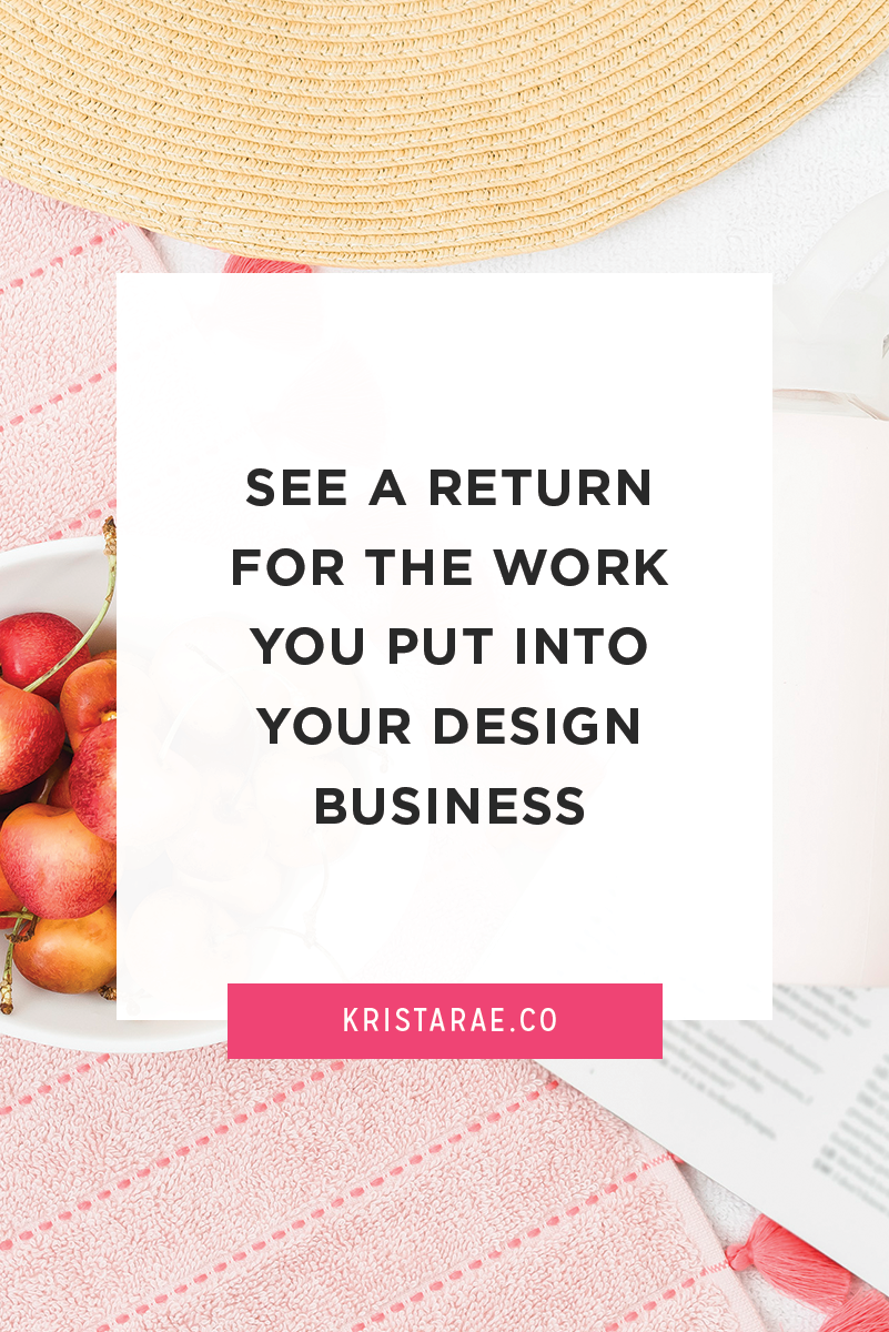 Take each of these steps one at a time to simplify your business, get a bigger return from what is already working, make your tasks easier, and boost your income! Read this post for help getting started on seeing a return for the work you put in your design business.
