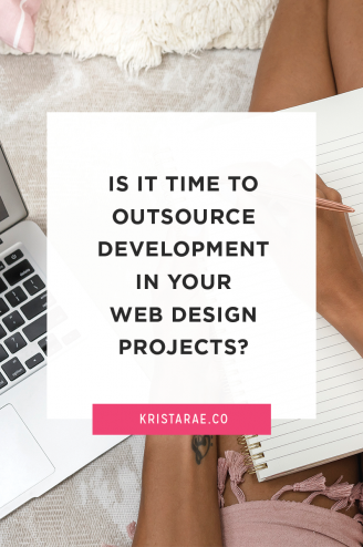 Discover if it is a good time for you to begin outsourcing development work in your web design projects for your business through this blog post!