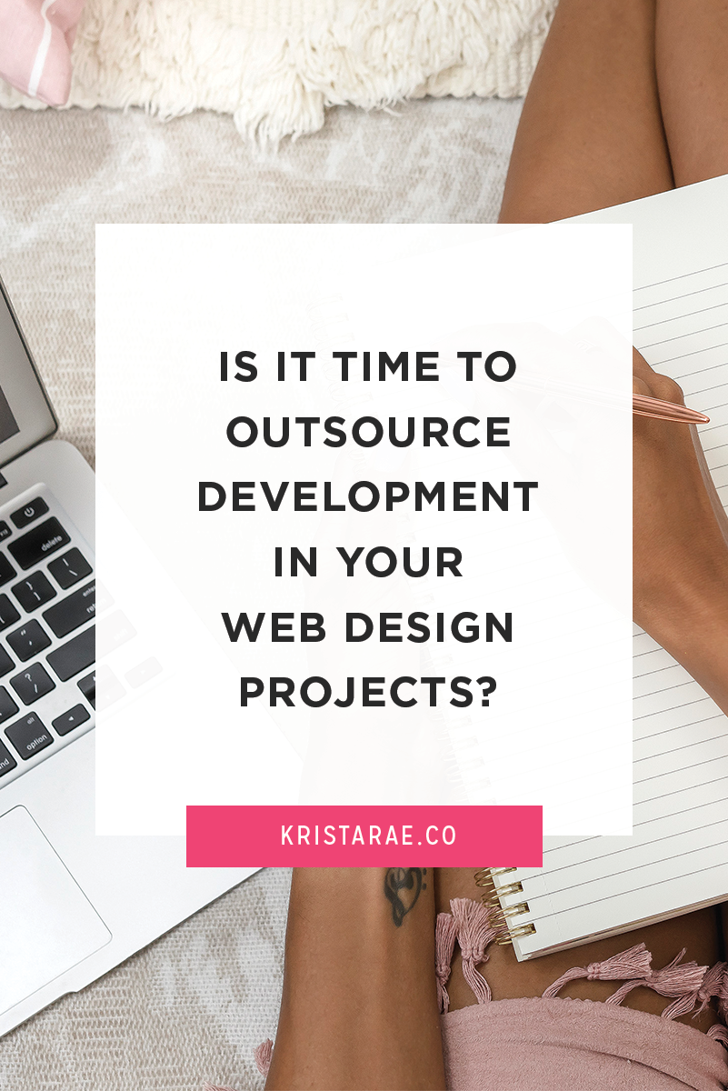 "A common question I get is, ""How do I know when it's time to hire a developer?"" This is a concern that comes up a lot in business, no matter what you're doing or who you're hiring. While there is no ""right"" answer, I'll do my best to help you decide if it's time to outsource the development of your web design projects."