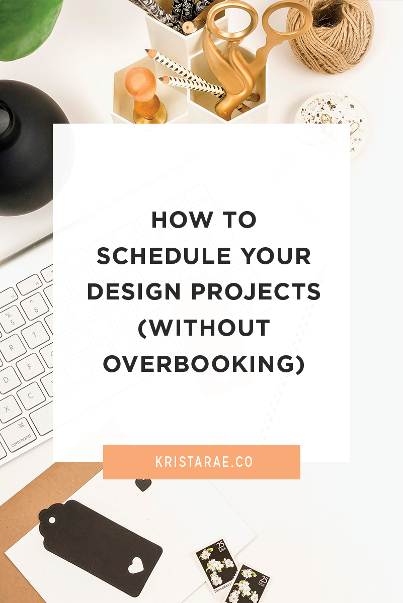 I hear from so many designers that scheduling projects is a struggle. How do you know how many clients to take at a time? And what do you do if you have clear scheduling limits and you reach them?