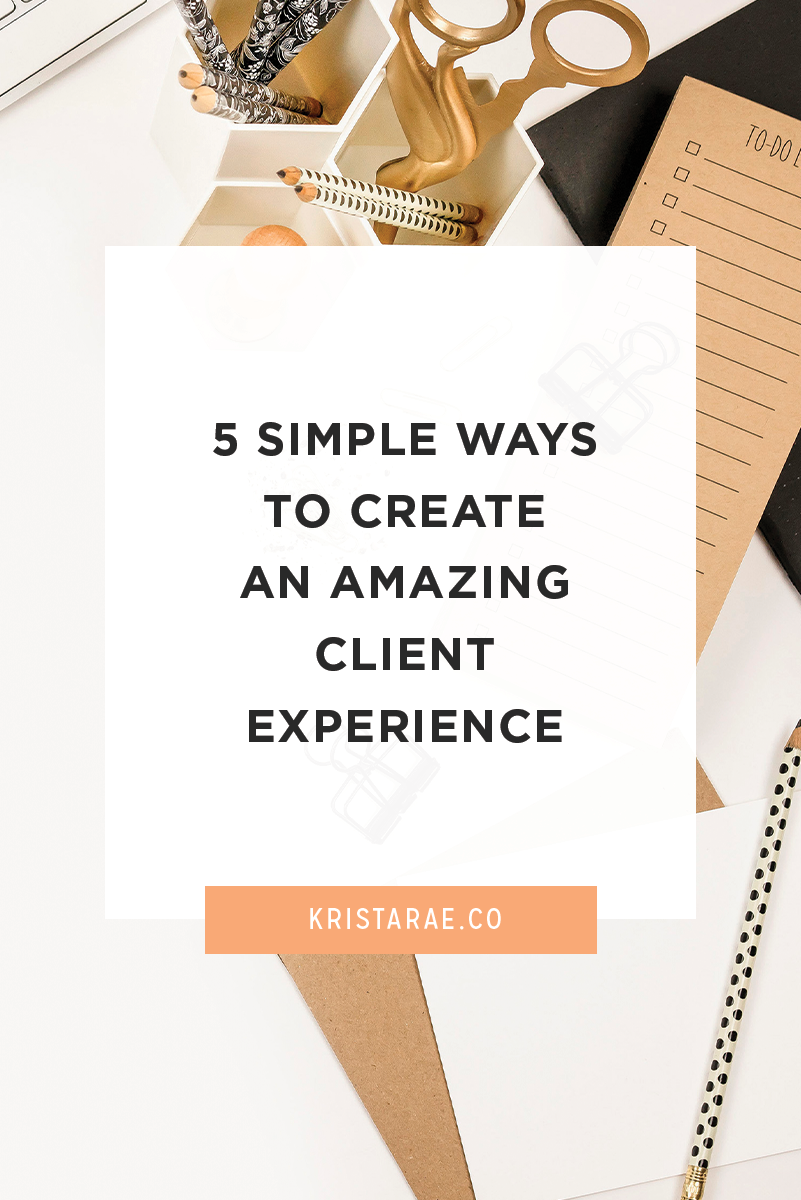 A good experience can decide whether a one-time client will become a repeat client. It can also get you powerful testimonials and determine if your clients will refer you to their friends. Plus it will allow you to charge more for your services! You can create that level of experience too! To help, we'll cover 5 simple ways to create an amazing client experience!